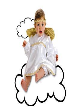 disfraz de angelito para bebe