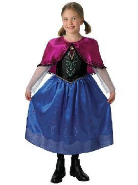 disfraz de anna fronze deluxe niña