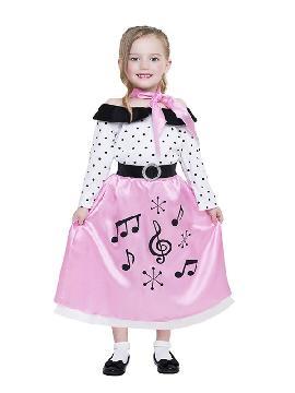 disfraz de años 50 para niña