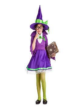 disfraz de aprendiz de bruja niña