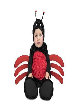disfraz de araña peluche para bebe