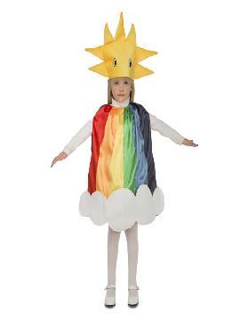 disfraz de arcoiris infantil