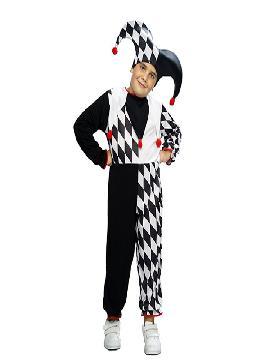 disfraz de arlequin barato niño