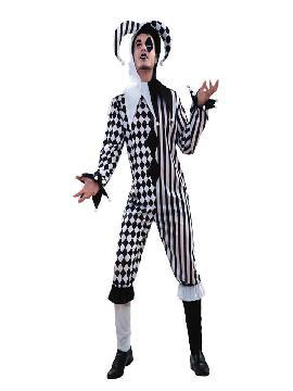 disfraz de arlequin deluxe hombre