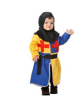 disfraz de arquero medieval bebe. Te convertirás en un valeroso caballero medieval de antaño dispuesto a ganar mil batallas. Es perfecto para Desfiles, Ferias y Mercados Medievales. Este disfraz es ideal para tus fiestas temáticas de disfraces de medieval para bebes.
