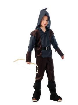 disfraz de arquero medieval niño