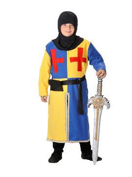 Disfraz de arquero medieval niño. Te convertirás en un valeroso caballero medieval de antaño dispuesto a ganar mil batallas. Es perfecto para Desfiles, Ferias y Mercados Medievales.Este traje es ideal para tus fiestas temáticas de disfraces de medieval para infantiles.