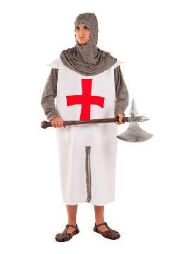 disfraz de artillero medieval hombre