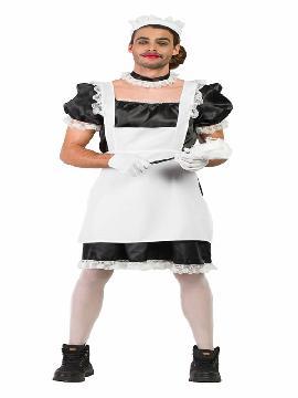 disfraz de asistenta del hogar hombre