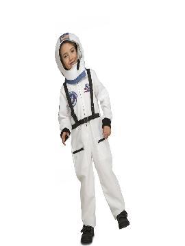 disfraz de astronauta con casco para niño