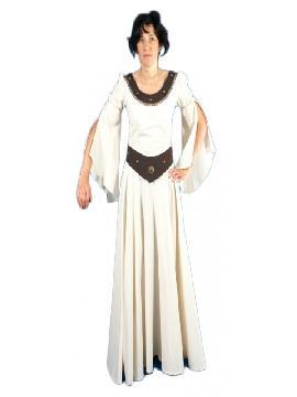 disfraz de atenea medieval para mujer adulto. Te convertirás en una auténtica mujer de la época medieval cuando lleves este vestido de atenea medieval para mujer, representaciones teatrales y mercados medievales. Este disfraz es ideal para tus fiestas temáticas de disfraces epoca y medievales para la edad media adultos