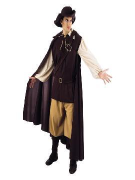 disfraz de aventurero medieval deluxe hombre