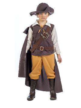 disfraz de aventurero medieval niño