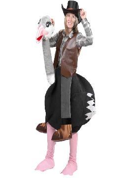 disfraz de avestruz original adulto