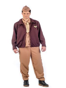disfraz de aviador vintage hombre