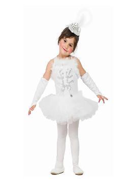 disfraz de bailarina blanca niña