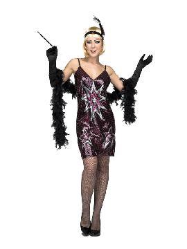 disfraz de bailarina charleston estrellas mujer