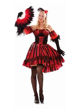 disfraz de bailarina del oeste mujer