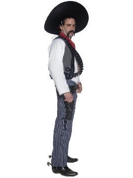 disfraz de bandido mexicano hombre