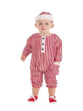 disfraz de bañista retro para bebe