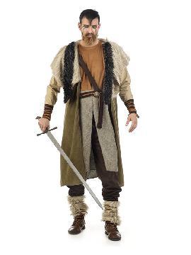 disfraz de barbaro vikingo deluxe hombre