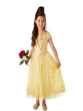 disfraz de bella deluxe para niña