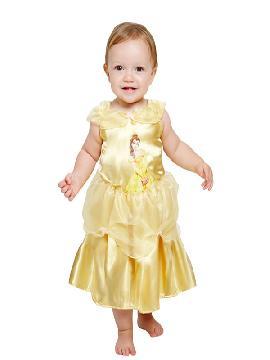 disfraz de bella para bebe