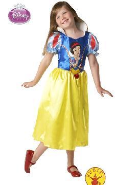 disfraz de blancanieves infantil classic  varias tallas. Te convertirá a tu pequeña en una verdadera Princesa Disney. Con este disfraz estos Carnavales, en Halloween o simplemente en las fiestas con sus amigas.