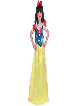 disfraz de blancanieves largo niña