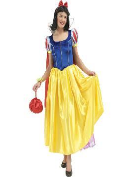 disfraz de blancanieves mujer