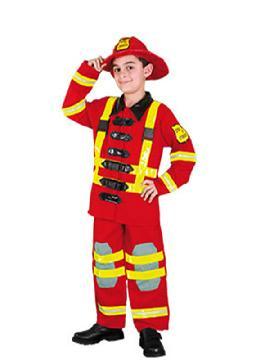 disfraz de bombero niño