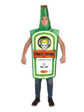 disfraz de botella jungen master para adultos