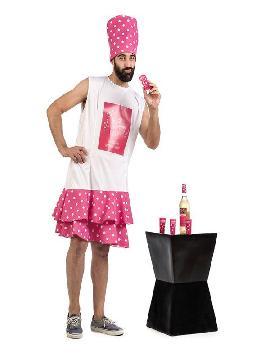 disfraz de botella málaga hombre