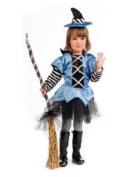 disfraz de bruja azul para bebe