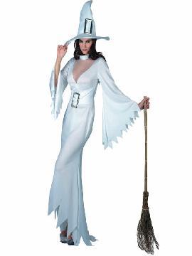 disfraz de bruja blanca mujer