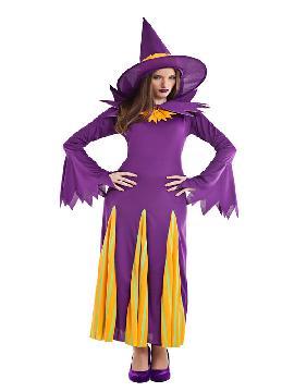 disfraz de bruja calabaza para mujer