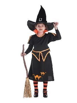 disfraz de bruja carol para niña