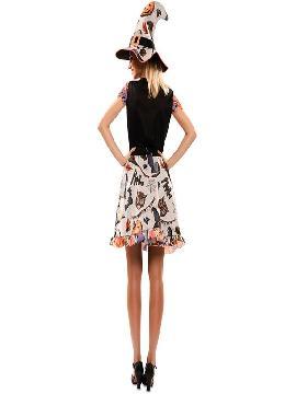disfraz de bruja divertida para mujer
