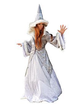 disfraz de bruja maga deluxe mujer