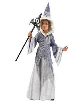 disfraz de bruja maga deluxe para niña