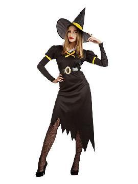 disfraz de bruja retro mujer
