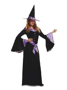 disfraz de bruja morada para mujer