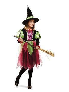disfraz de brujita fantasia para niña