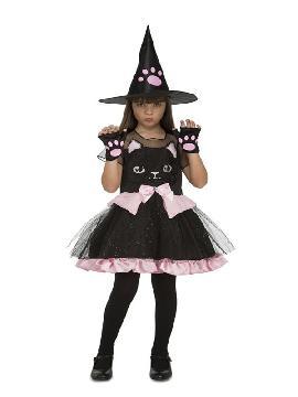 disfraz de brujita gatita para niña