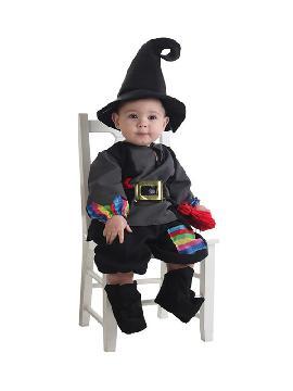 disfraz de brujo colorines para bebe
