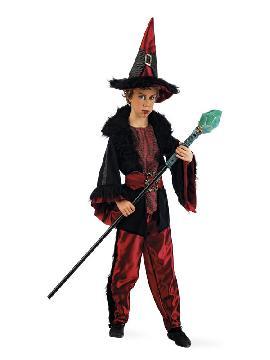 disfraz de brujo dacha niño