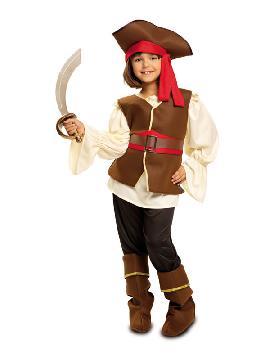 disfraz de bucanera para niña