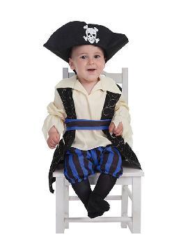 disfraz de bucanero brocado para bebe