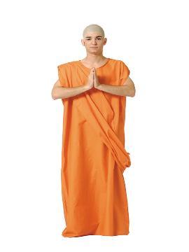 Disfraz de buda monje tibet hombre. Hare Krishna para hombre vivirás la religión tibetana. Llevarás la paz budista a todas las fiestas temáticas. Este disfraz es ideal para tus fiestas temáticas de disfraces del mundo por países y regionales para adultos.