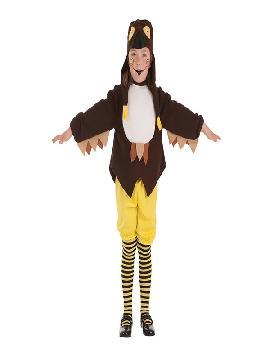 disfraz de buha loca para niña